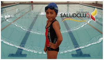 Academia Saludclub Natación.