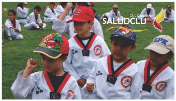 Academia Saludclub Taekwondo.