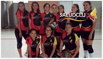 Academia Saludclub Voleibol.