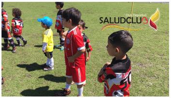 Academia Saludclub baby Futbol.