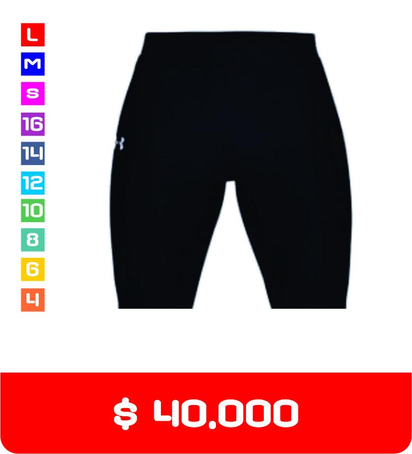 Pantaloneta costa en licra Nayación Saludclub